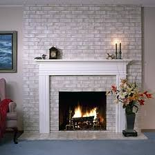 how to paint brick walls or fireplace