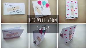 get well soon card 3 craft for kids