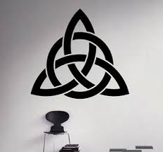 Scandinavian Patterns Vinyl Decal Celtic Design Vinyl Sticker Home Interior 10 Ebay