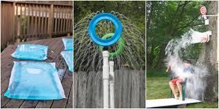 create your own diy backyard waterpark