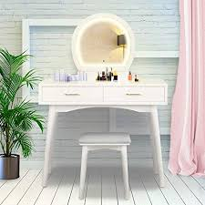 best makeup vanity tables with lights