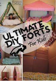 Ultimate Diy Forts The Realistic Mama Diy Fort Kids Forts Diy For Kids
