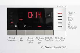 Trên tay máy giặt Beko Inverter 7kg WTE 7512 XS0