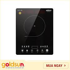Bếp điện từ Goldsun BA 2101MT - Công suất 1650W - Mặt kính cường lực điều  khiển cảm ứng - Hàng Chính Hãng