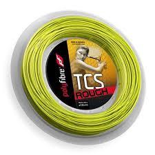 ポリファイバー TCS ラフ(125mm/1.30mm)200Mロール 硬式テニスガット ...