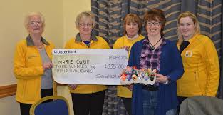 Hilda Watson presented the cheque to... - Armagh Fundraising Group - Marie  Curie | Facebook