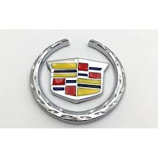 Chrome Platinum Sidi Car Sticker V 28t Decal Emblem For Cadillac Xt5 Atsl Ct6