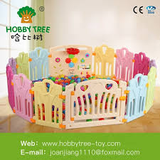 China Colorful Pvc Material Kids Plastic Fence Large Playpen For Babies Children Playard China Indoor Plastic Game Fence Baby Safety Playpen