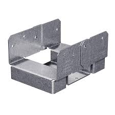 Simpson Strong Tie Steel G185 Post Base Common 6 In Actual 3 In In The Base Cap Hardware Department At Lowes Com