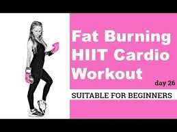 hiit workout fat burning cardio