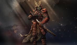 1242x2688 samurai warrior art iphone xs