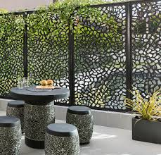 Bunnings Simple Matrix Screen Solutions Comes In A Range Of Patterns Bunnings Also Have An Installation V Privacy Screen Outdoor Patio Fence Outdoor Privacy