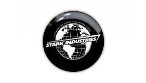 Stark Industries Iron Man 3d Epoxy Resin Domed Sticker Decal Emblem For Laptop Notebook Ipad Tablet Phone Car Tuning Fun And Etc