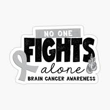 Brain Cancer Awareness Stickers Redbubble