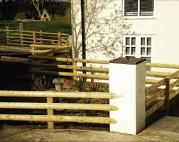 Machined Garden Paddock Wooden Rail Fencing 3 6m X 100mm Half Round Rails Omheiningspalen Tuinhekken Tuin En Terras Networkstore Lk