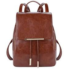 womens small backpack brown com