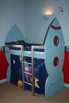 Rocket Bed For My Nephew Rocket Bed Toddler Bedroom Playroom Boys Space Room