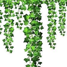 Efantur Artificial Ivy Leaves 12 Pack Fa Buy Online In Cook Islands At Desertcart