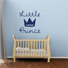 Nursery Wall Decal The Little Prince Personalized Vinyl Wall Decor Customvinyldecor Com