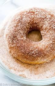 baked cinnamon sugar donuts sally s