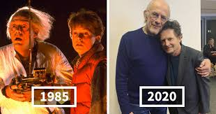 Doc And Marty From 'Back To The Future' Just Had A Wholesome ...