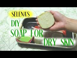 diy soap dry skin eczema melt