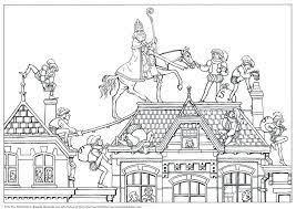 Afbeeldingsresultaat Voor Kleurplaat Sinterklaas Bovenbouw