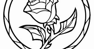 beast stained glass coloring page fresh