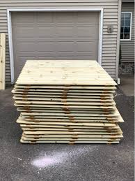 6 Pressure Treated Dog Ear Fence Panels Fencing Clinton New York Facebook Marketplace