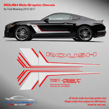 Decals Stripes Stickers For Ford Mustang