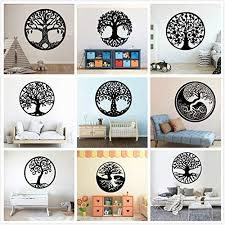 Amazon Com Byron Hoyle Tree Of Life Wall Decals Tree Of Life Decals Large Tree Of Life Yin Yang Classic Round Wall Sticker Vinyl Art Kids Room Bedroom Decor Home Kitchen
