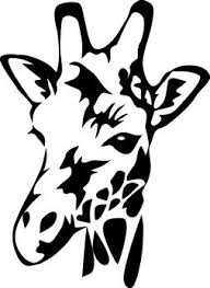 Giraffe Decal For Car Cardecal