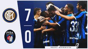 Inter Milan vs Pisa 7-0 | All Goals & Highlights - 2020 [ENG] - YouTube