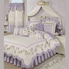 lavender rose embroidered fl