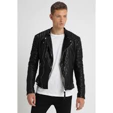 sarls biker leather jacket allsaints