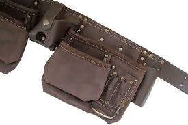12 pocket oil tanned leather