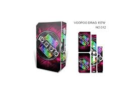 Skin Decal Vinyl Wrap For Voopoo Drag 157w Tc Resin Reg Vape Mod Stickers Skins Cover Colorful Space Gasses 12 Wish