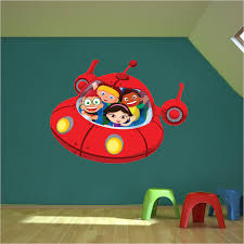 Little Einsteins Spaceship Wall Decal Space Wall Decal Murals Primedecals