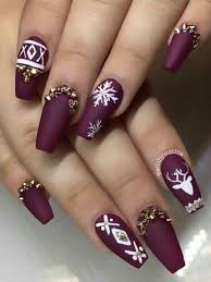 35 Inspirational Winter Nails Designs For 2019 Manicure Na