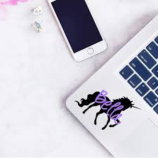 Amazon Com Unicorn Name Decal Sticker Personalized Vinyl Decal For Yeti Tumbler Rtic Cup Laptop Car Window Accessories For Women You Choose Size And Color Handmade