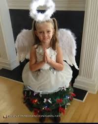 coolest homemade angel costumes