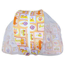 cute baby bedding with net at rs 190