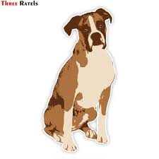 Buy Cheap Boxer Dog Sticker Low Prices Free Shipping Online Store Joom