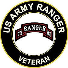 Amazon Com Military Vet Shop U S Army Veteran Airborne Rangers Window Bumper Sticker Decal 3 8 Automotive