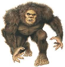 Sasquatch Big Foot Monster Wall Decal Wallmonkeys Com