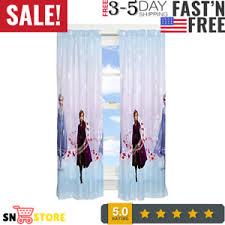 Franco Kids Room Window Curtain Panels Drapes Set 82 X 63 Disney Frozen 2 Ebay