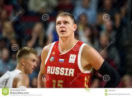 Timofey Mozgov, баскетболист национальной команды России Редакционное  Стоковое Фото - изображение насчитывающей россии, timofey: 119836543