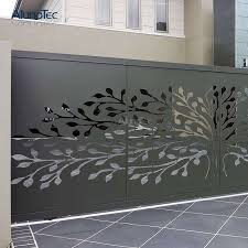 China Laser Cut Room Divider Decorative Fence Panels Aluminum Metal Screen Partition Photos Pictures Made In China Com