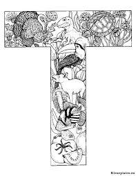 Alfabet Dieren Kleurplaat 798900 Kleurplaat