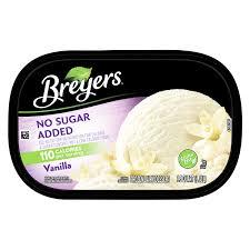 breyers vanilla ice cream nutrition